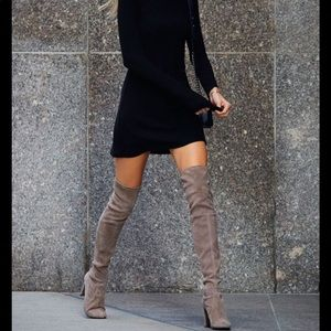 Kendall and Kylie over the knee boots